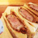 茶屋街にある「流寓(LUGU)」で、肉汁溢れるカツサンドを堪能!